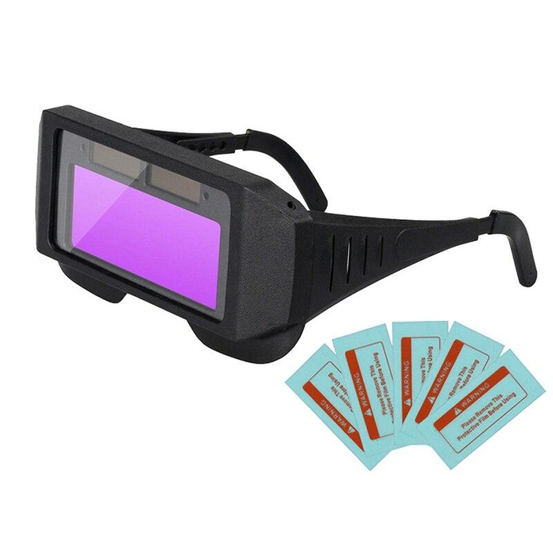 Capacete de Soldagem Máscara de Solda Novo-solar Escurecimento Automático Óculos Máscara Olhos Protetor Soldador Boné Máquina Lcd