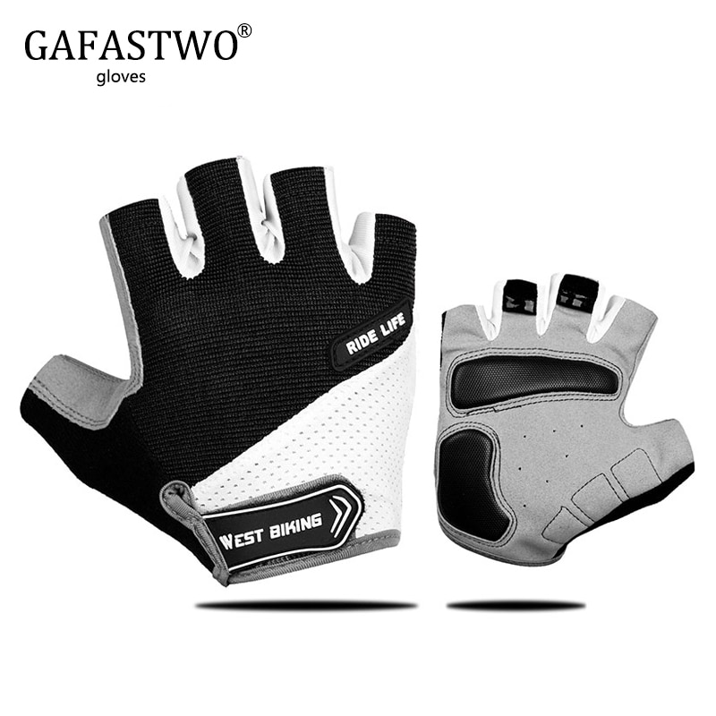gloves men mountain bicycle gloves 3d gel pad bright green sport gloves with reflective half finger mtb bike gloves cycling GAFASTWO Breathable Half Finger Cycling Gloves Anti Slip Pad Motorcycle MTB Road Bike Gloves Men Women Sports Bicycle Gloves