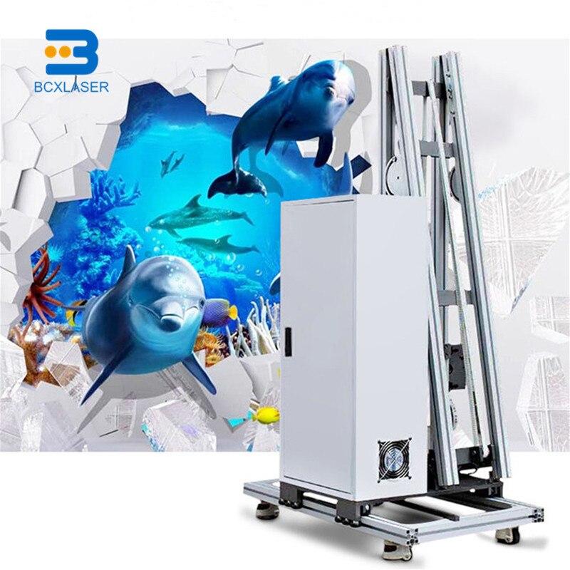 Máquina de impressão a jato de tinta da parede para advtisement e propaganda impressora de parede 3d/impressora digital/impressora de história/impressora a jato de tinta/fla