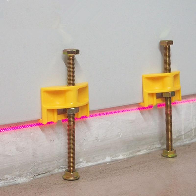 10 pz manuale piastrella locator rivestimento piastrelle regolatore regolazione altezza posizionatore livellatore ceramica filo sottile strumento di costruzione in aumento