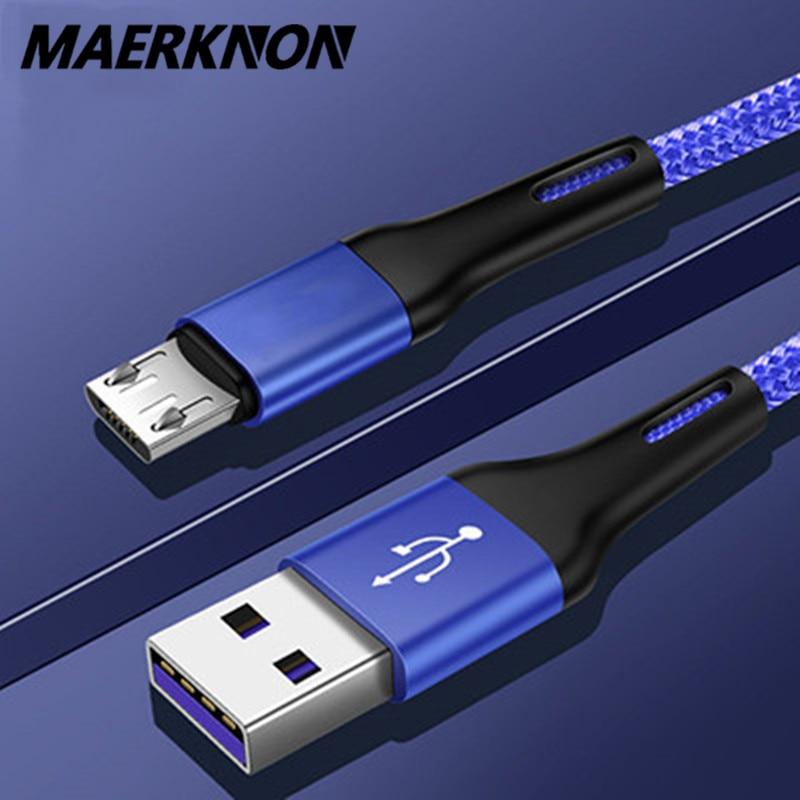 Olnylo-Cable Micro USB 3A de 0,5 m/1m/2m, Cable de carga rápida de...