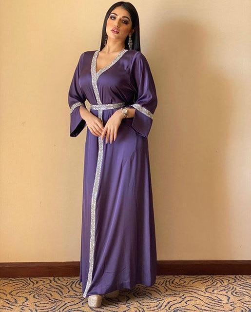 Dubai  Long Dress Loose Diamond Full Sleeve Islamic Arab Muslim Pakistan Pakistan Pakistan Abaya Dress Morocco Ramadan Eid Party
