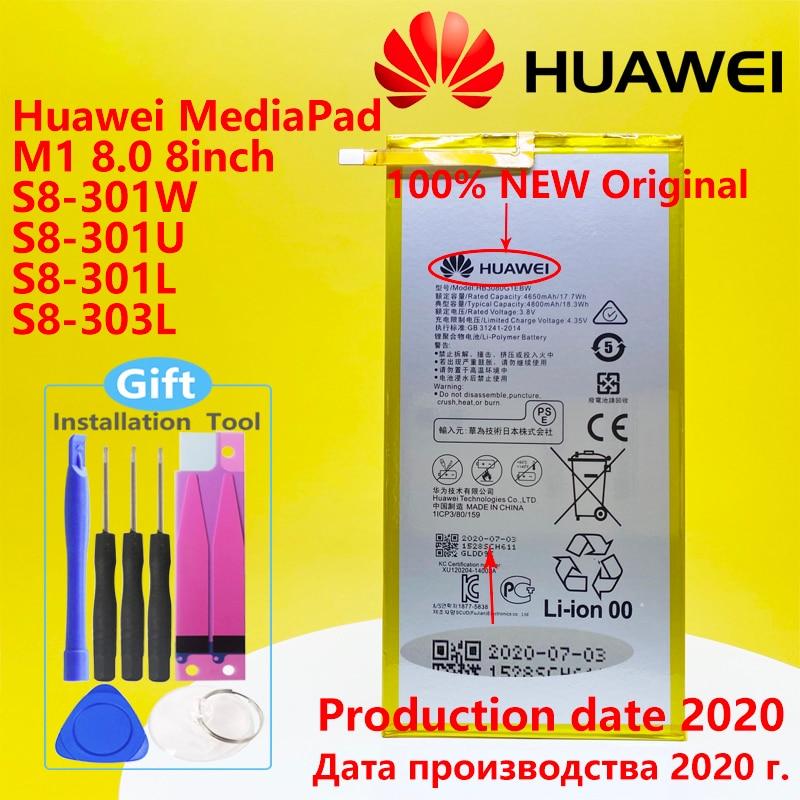 Original Huawei MediaPad T1 10 Pro / S8 S8-701u S8-701W MediaPad M2 M1 8.0 4800mA HB3080G1EBW Tablet Battery HB3080G1EBC