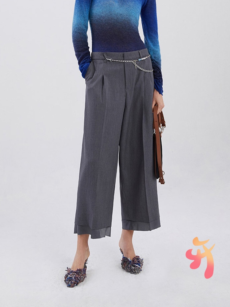 Брюки Adererror для мужчин и женщин, мужские повседневные брюки с прострочкой, Костюмные брюки, корейские простые Стильные широкие брюки Adererror