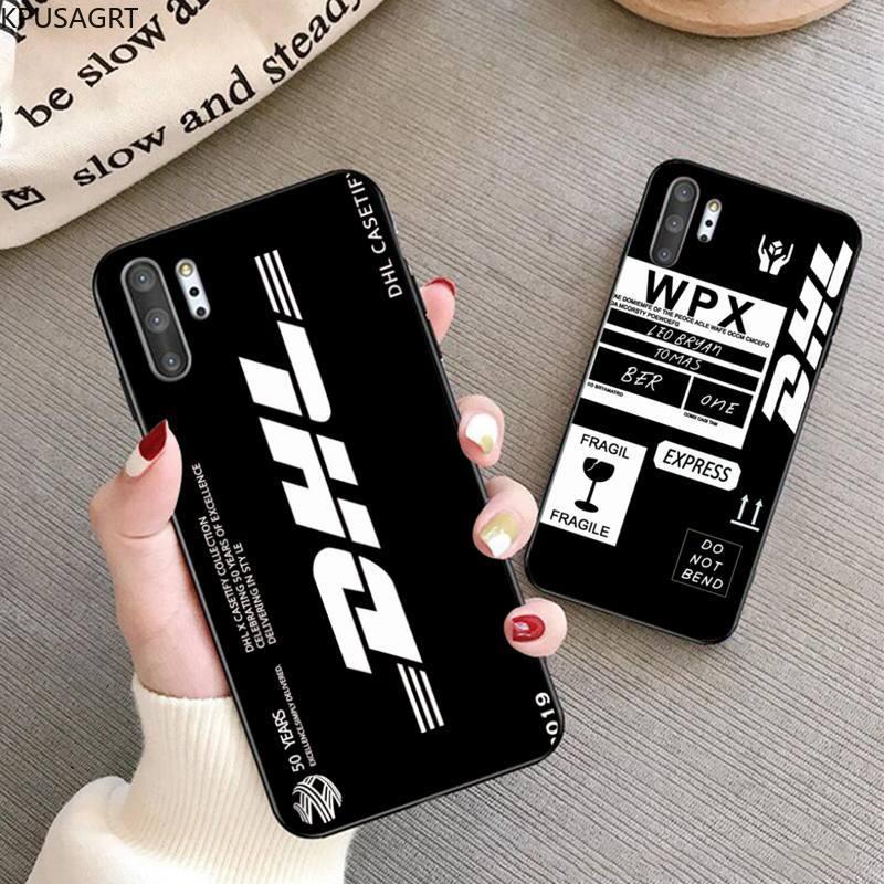 Hot Express DHL Logo Phone Case For Samsung Galaxy Note20 ultra 7 8 9 10 Plus lite J7 J8 Plus 2018 P