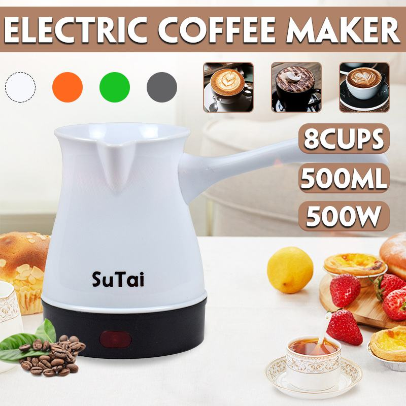 8 filiżanek 500W Mini podgrzewacze elektryczne kuchenka gorąca płyta kuchenna mleko woda kawa herbata piec grzewczy wielofunkcyjne urządzenie kuchenne