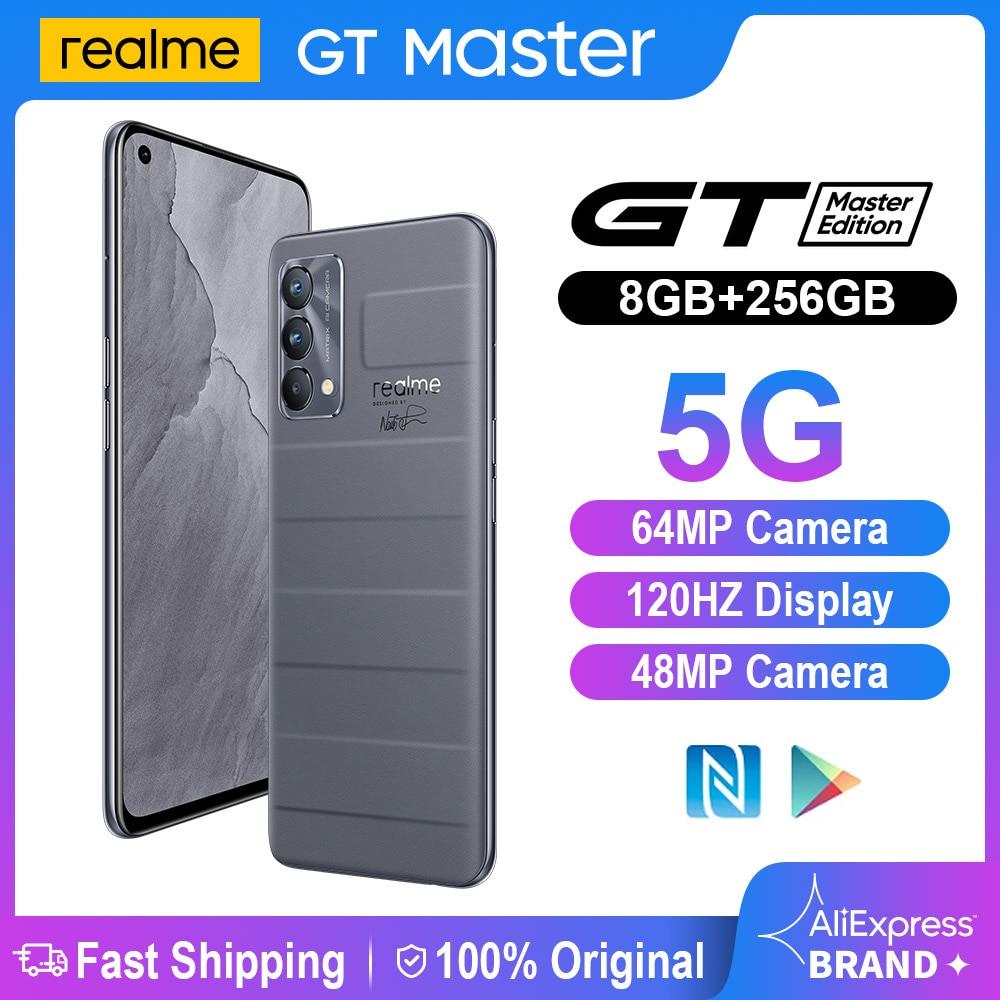 【19999-1700 ₽ : POKALETO1700】Смартфон Realme GT Master Edition, 6 + 128 ГБ, Snapdragon 778, 65 Вт, 120 Гц, 64 мп