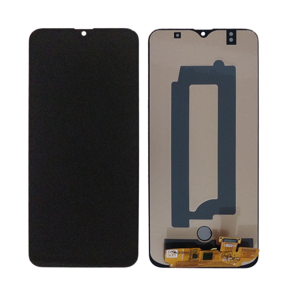 Amoled LCD لسامسونج غالاكسي A30S lcd عرض تعمل باللمس محول الأرقام الجمعية A307 شاشة lcd مع وظيفة الطباعة الاصبع