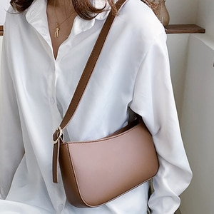 Crossbody Bags for Women 2021 Simple Style Women Leather Handbags High Quality Sac A Main Travel Tote Female Messenger Bag Solid