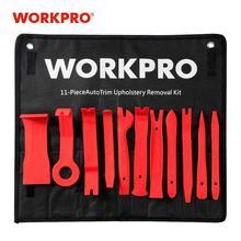 WORKPRO 11PC Kits de retrait de tapisserie dameublement de voiture ensemble de barre de levier