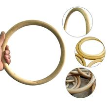 1Pcs Wing Chun Bamboo Ring Kung Fu Wing Chun Kung Fu Rings Wrist Strength Training Rattan Ring Martial Arts Fitness Equipment