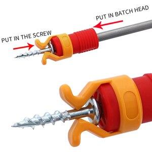Screwdriver Precision Extractor Screw Holder Clamper Fixing Set Screwdriver Set Hand tools Fixing Sleeve Woodworking Tools