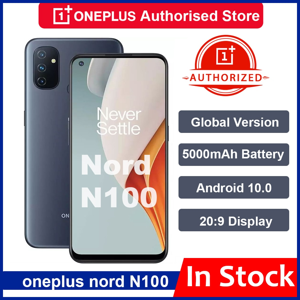 Oneplus+%E2%80%93+Smartphone+Nord+N100%2C+Version+globale%2C+Snapdragon+460%2C+5000mAh%2C+Android+10%2C+Triple+cam%C3%A9ra+13mp%2C+90Hz%2C+affichage+20%3A9%2C+t%C3%A9l%C3%A9phone+portable