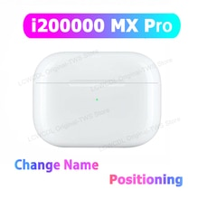 I200000 TWS MX PRO TWS nuevo auricular bluetooth aislamiento de ruido PK i100000 i500 i9000 i90000 pro auriculares para iphone android móvil