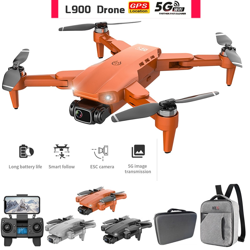Drone L900 Pro 5G GPS 4K Dron with HD Camera FPV 28min Flight Time Brushless Motor Quadcopter Distance 1.2km Professional Drones enlarge