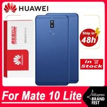 Высококачественный сменный задний корпус для Huawei Mate 10 Lite, задняя крышка, аккумулятор, стекло с объективом камеры для Nova 2i, задняя крышка