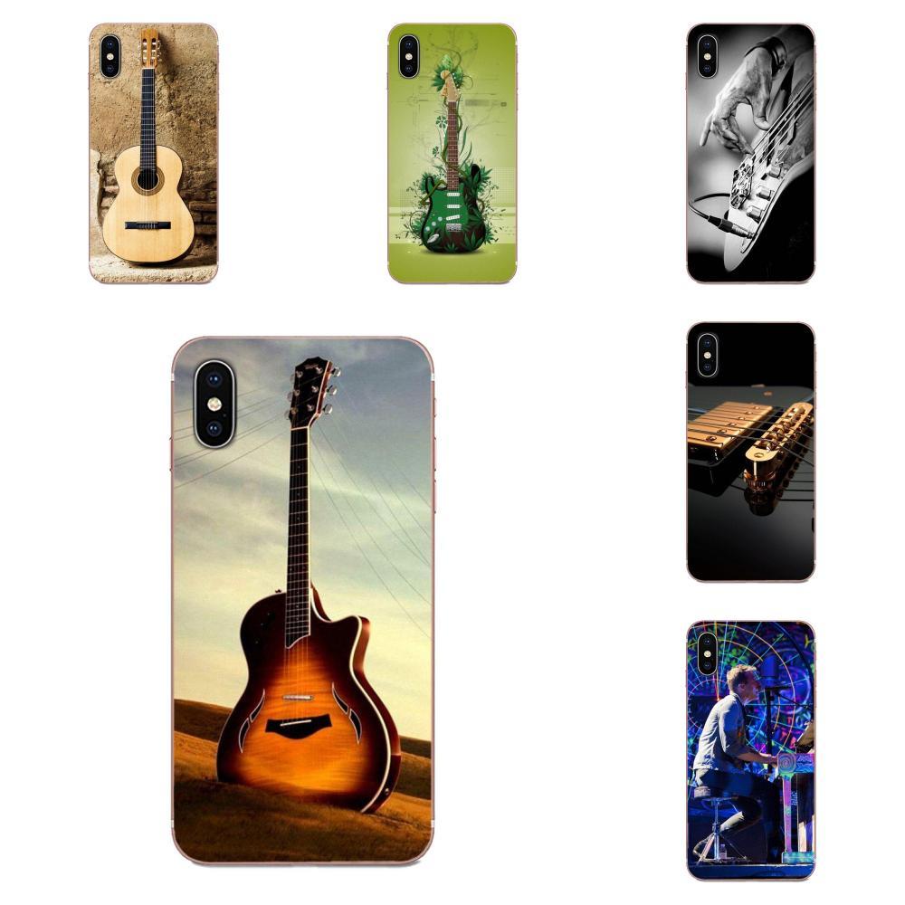 Bass Guitar Strings Music Instrument For Huawei Honor Mate 7 7A 8 9 10 20 V8 V9 V10 V30 P40 G Lite Play Mini Pro P Smart