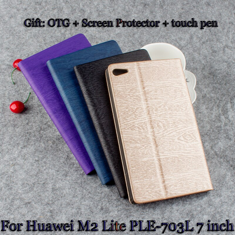 protective rotation pu leather case for google nexus 7 purple Leather Case PU protective Leather Case For Huawei Mediapad T2 7.0 Pro M2 Lite PLE-703L PLE-701L 7'' PC Protective Shell+ Gift