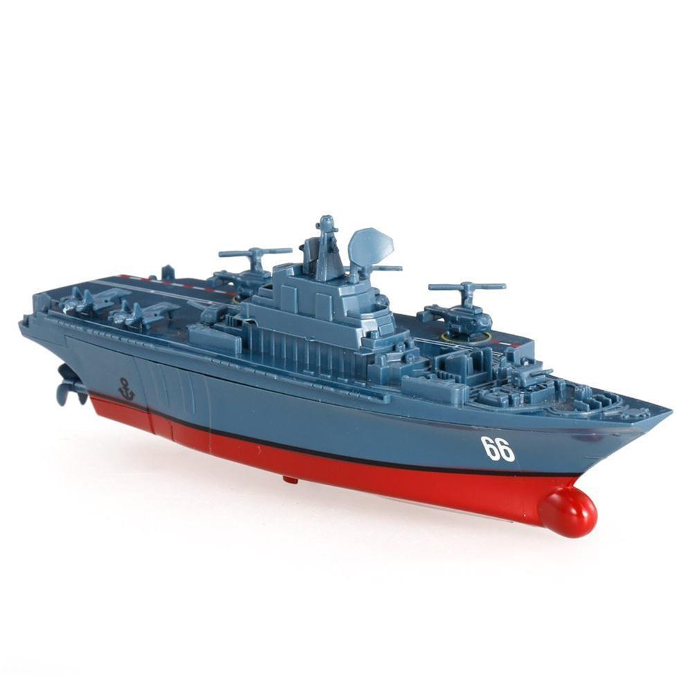 Kuulee, 2,4 г, модель военного корабля с дистанционным управлением, электрические игрушки, водонепроницаемый мини-авианосец/береговой эскорт, подарок для детей