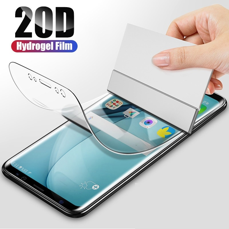 Película de hidrogel frontal suave 9D para tp-link Neffos X20/X20 Pro C9S C9 MAX película protectora de pantalla completa