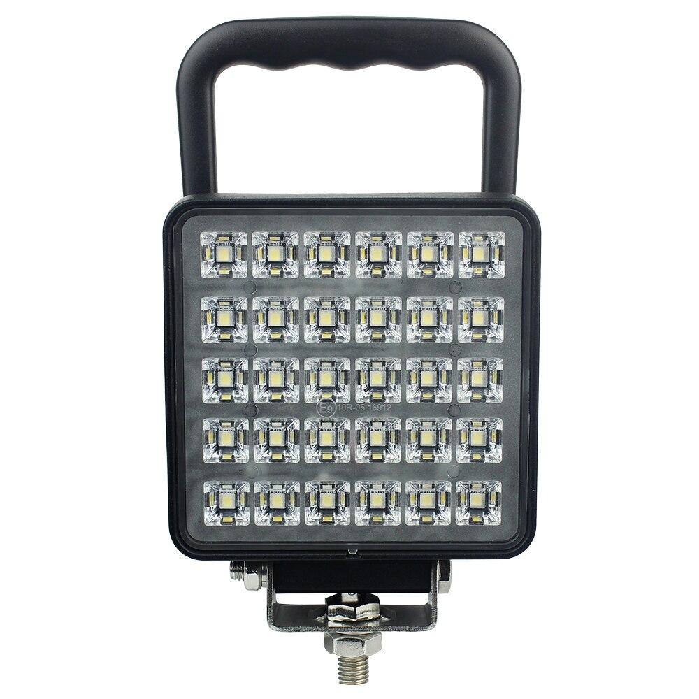 "30 LED 30 W 4.5"" LED Work Light Bar Power Switch Flood/Spot 12V 24V Offroad LED Light Bar For Truck Offroad 4X4 4WD Car SUV ATV"