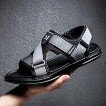Sandales hommes à bout ouvert 2020 été mode chaussures de plage sandales confortables dames sandales plates antidérapantes hommes Sandalias Creek chaussures