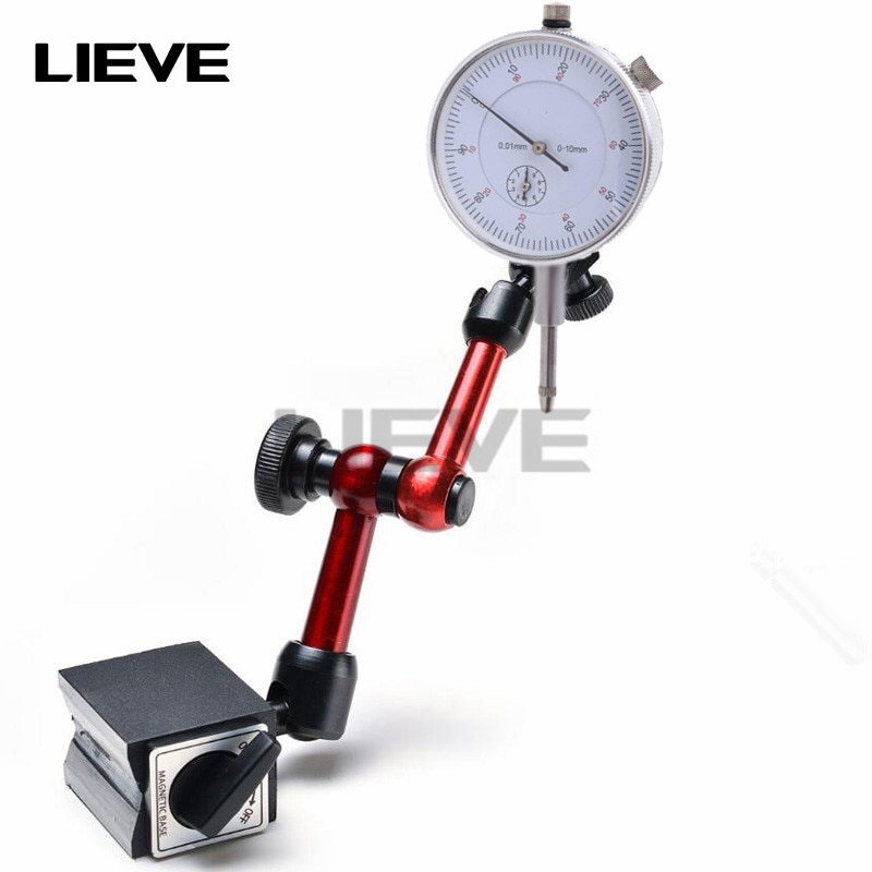 10mm Dial Indicator Magnetic stands Dial indicator Universal Magnetic Base Holder Stand Table Scale