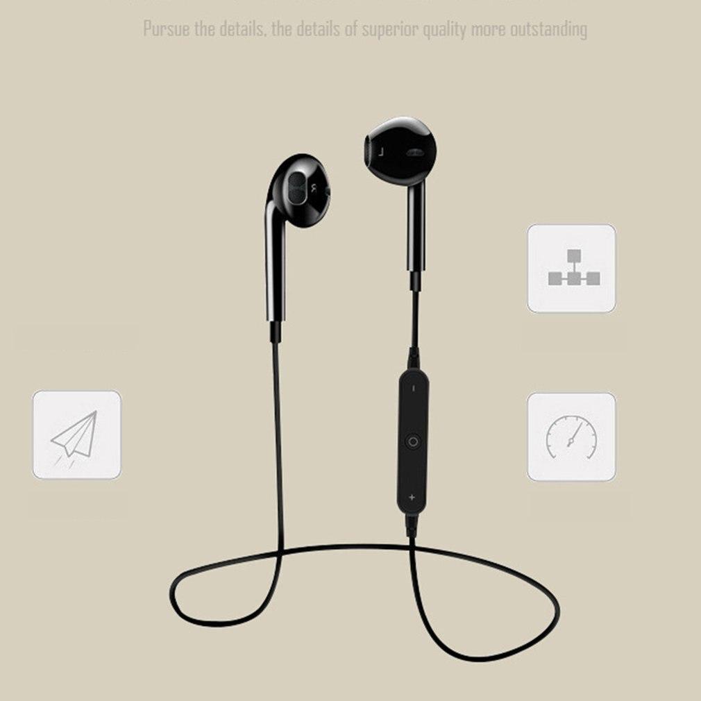2020 nuevo S6 auricular inalámbrico Bluetooth deportes Bluetooth V4.1 auricular Mini estéreo Dual en el oído altavoz-Manos libres micrófono auricular