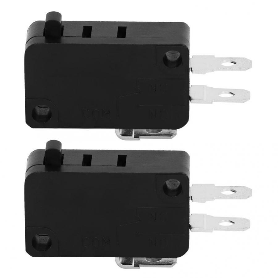 5E4 veces duradera KW3AT-16 microinterruptor de puerta de horno microondas interruptor de puerta de microondas normalmente cerrado