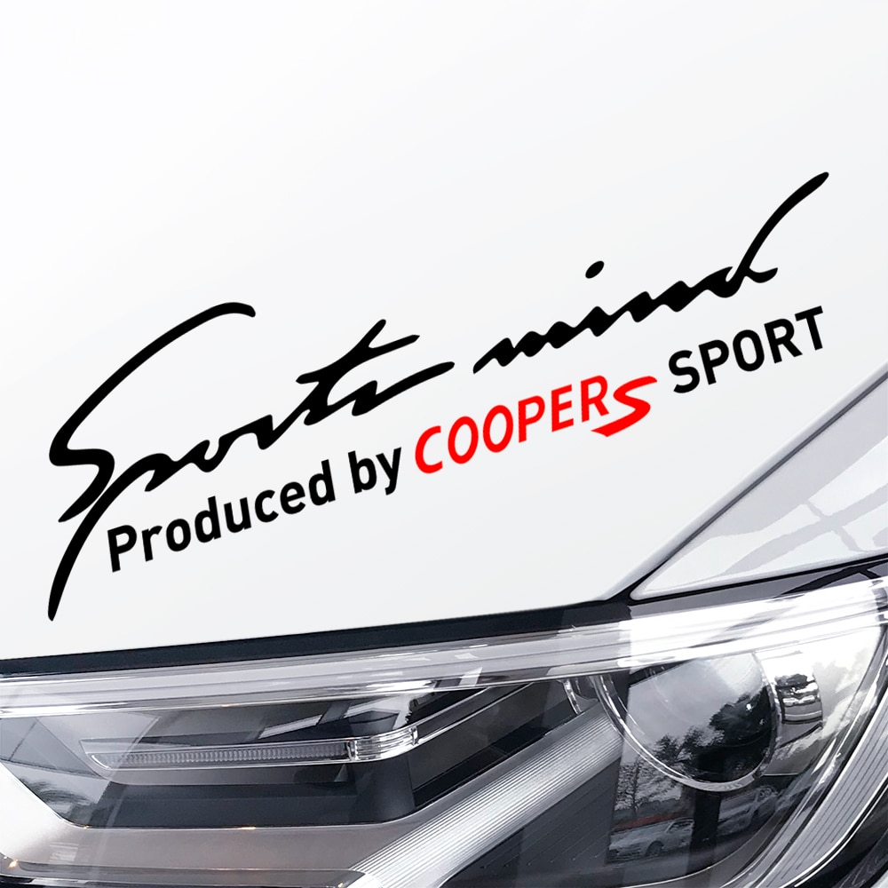Lámpara con pegatinas para coche, CEJA para Mini Cooper S One JCW Countryman Clubman F55 F56 R50 R53 R55 R56 R60 F60, calcomanías para accesorios de coche