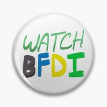 Watch Bfdi  Soft Button Pin Women Creative Badge Funny Brooch Clothes Jewelry Collar Lover Metal Gif