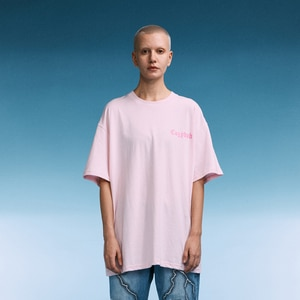 2021 Men Clothing Pink Chrysanthemum Women Short Sleeve T-Shirt Harajuku Hip hop Streetwear Oversize Couple Top9520