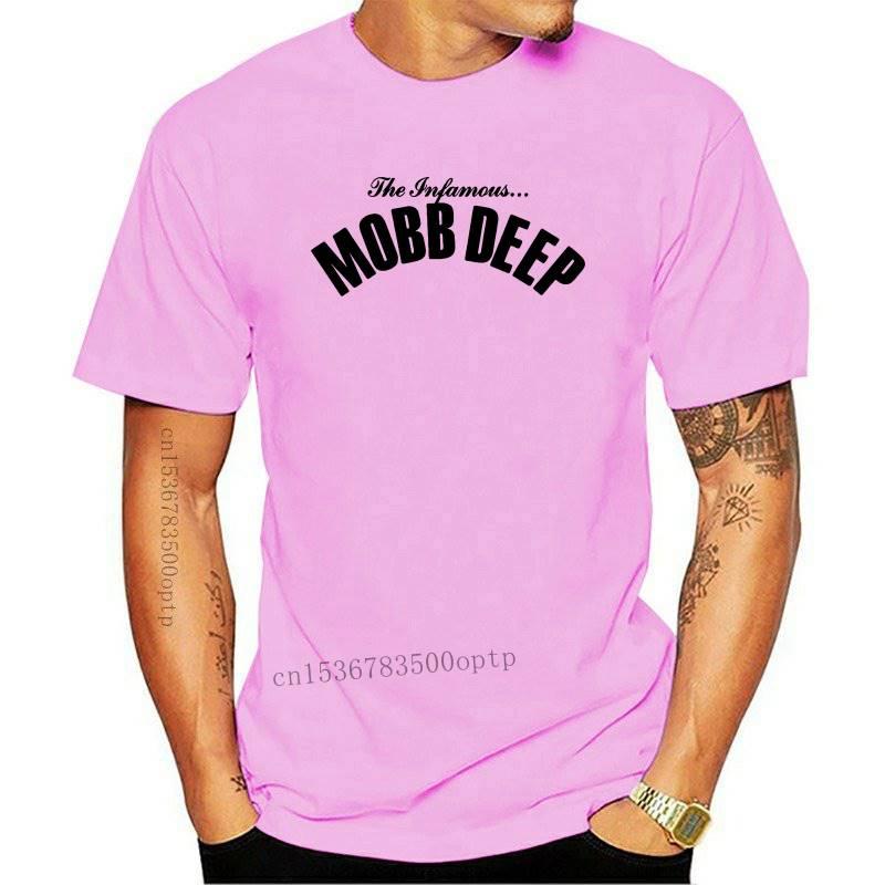 Mobb Deep hombres infame en rojo camiseta rojo