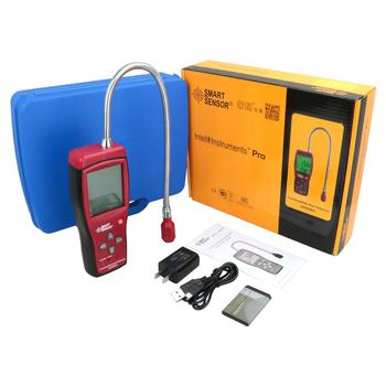 AS8800A Digital Combustible Gas Detector Air Quality Detector Combustible Air Tester Air Quality Analyzer Multifunctional Analyz