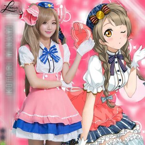 Anime Love Live Dress Costume Cosplay Minami Kotori Carnevale Halloween Cosplay Costumes Clothes For Woman Girl Free Size