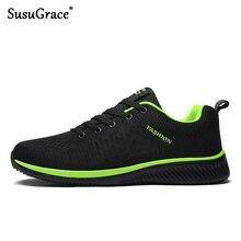 SusuGrace, zapatos para correr para hombre, nuevos zapatos transpirables de malla de aire de verano para hombre, cómodos zapatos deportivos Ultra ligeros para exteriores