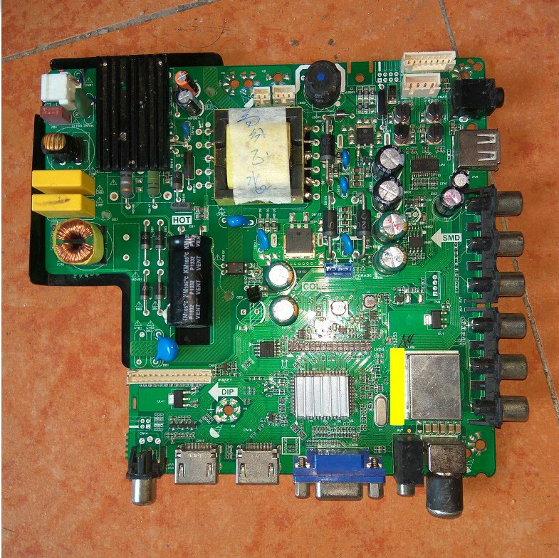 TP! VST59S! PC1 placa base Haier H32E12 LE32G50 32EU3000 LED-32Q5A