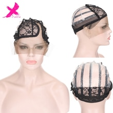 Xnaira Wig Cap for Making Wigs with Adjustable Strap on the Back Weaving Cap Glueless Wig Caps Good