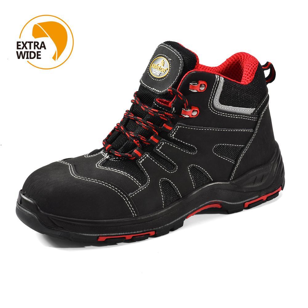 Safetoe zapatos de seguridad zapatos de punta de acero de tapa de verano transpirable ligero Anti-aplastamiento puñalada resistente al botas Casual sitio zapatos
