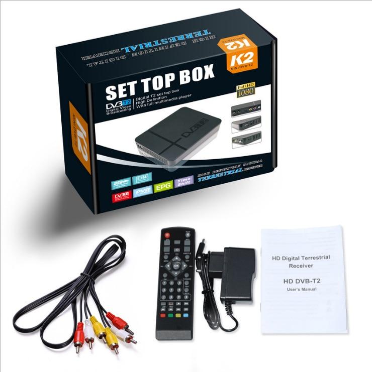 MODEL K2 MAX-w pełni zgodny ze standardem DVB-T/T2 i kompatybilny z kodekiem H.264 (MPEG-2/4) i H.265/HEVC. -Wiele języków OSD