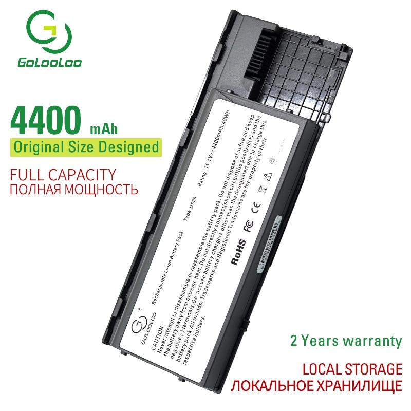 Golooloo 11.1v 6 komórki laptop bateria do dell Latitude D620 D630 D630c D631 UMA/ATG/XFR D620 ATG precyzja M2300 0GD775 0GD787