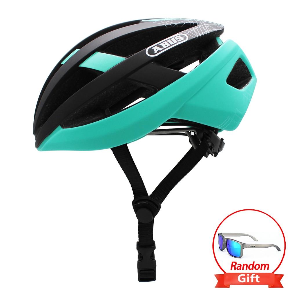 ABUS-Casco aerodinámico de Ciclismo para hombre, accesorio de seguridad para bicicleta de...