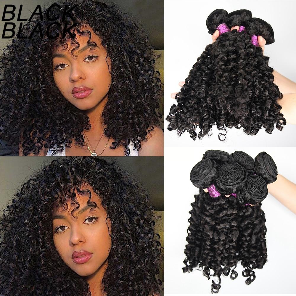 Blackblack Raw Indian Hair Bundles Italian Curly Wavy Hair Human Virgin Hair Weave Wholesale Hair Bu
