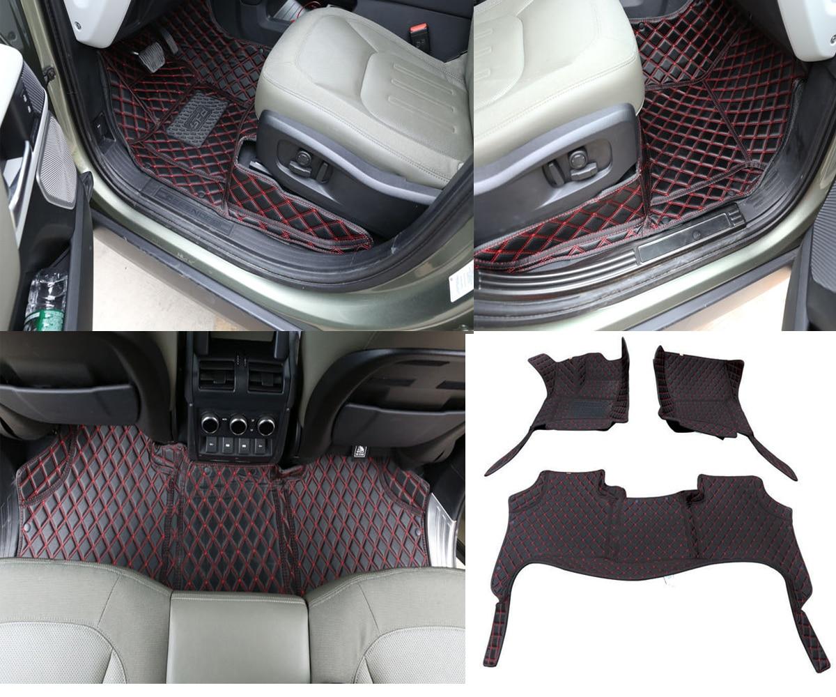 2020-2021 para Land Rover Defender 110 Esteras del coche todo-incluido interior modificación...