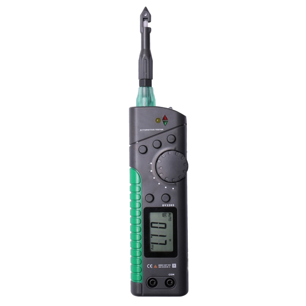 DY2203 Автомобильный многофункциональный тестер er тестер цепи автомобиля цифровой мультиметр логический уровень тест выключатель Finder