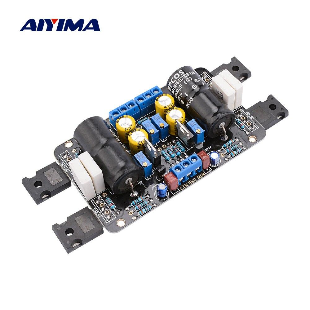 AIYIMA 1969M FET усилитель плата 8-45 Вт двухканальный IRFP250 предусилитель трубка усилитель доска Домашний Мини Amp DC18-50V