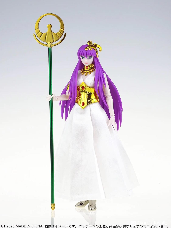 Freies verschiffen Greattoys GT Saint Tuch Göttin Athena Thron Form Saint Seiya Action Fgure Mythos Casual Anzug hohe qualität