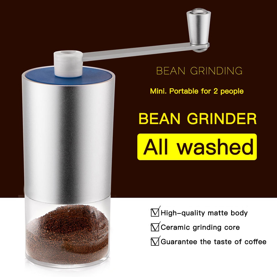 Hand Manual Coffee Grinder Kitchen Cereals Nuts Beans Spices Grains Grinding Machine Multifunctional Home Coffe Grinder Machine