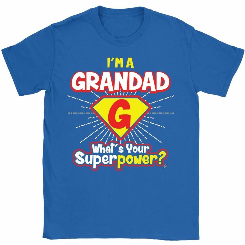 Im A Grandad-WhatS Your Superpower padres Day hombres camiseta envío gratis camiseta