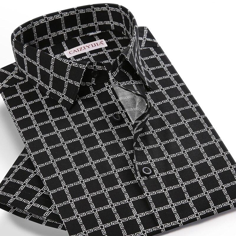 الرجال قصيرة الأكمام منقوشة متقلب المطبوعة قميص هاواي صيفي جيب أقل تصميم القياسية صالح الصيف عادية قمصان الشاطئ القماش القطني